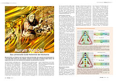 Aurum Potabile: Das universelle Gold-Heilmittel der Alchemie